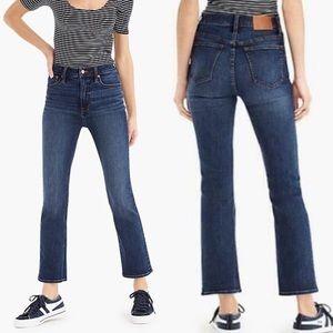 J. Crew Curvy Billie Demi Boot Jeans Size 25